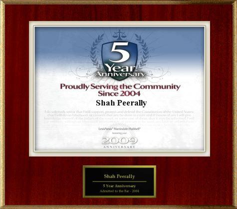 Peerally Law Group: Proudly serving the community since 2004